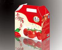 番茄手提包装盒设计