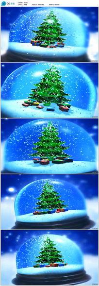唯美圣诞树视频素材下载