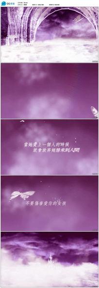 天使之恋系列LED背景唯美浪漫