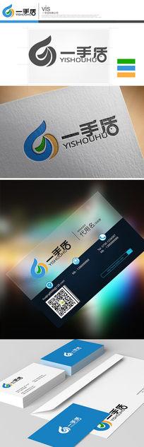 物流科技五金数码logo设计