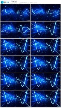 动感灯光秀发光线条流动led视频
