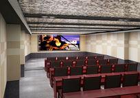 放映室3d模型下载
