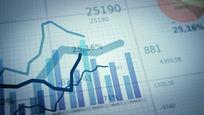 财务增长曲线数据报表视频素材