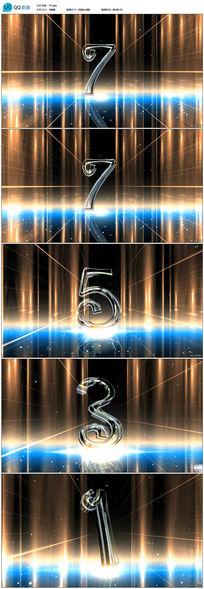 超炫太空宇宙开场10秒倒计时