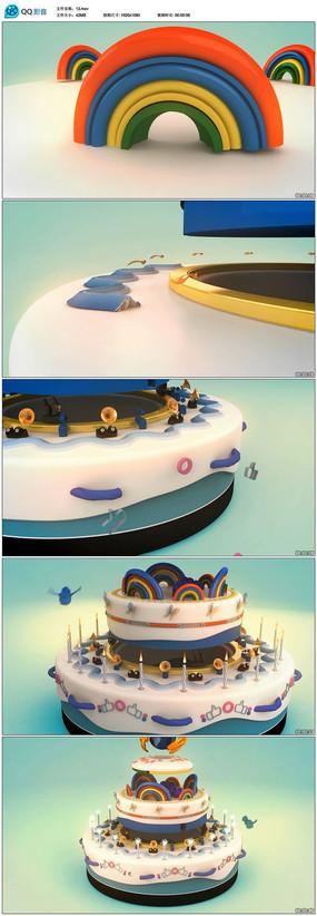 生日视频模板
