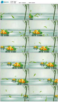 舌尖上的端午粽子视频素材