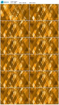 金黄方格高清大屏幕背景视频素材