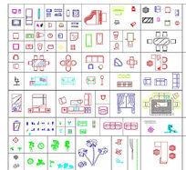 CAD室内模块素材