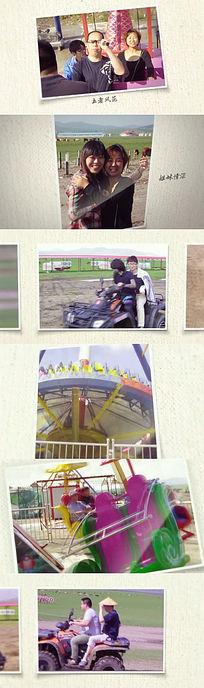 简约图文视频展示AE素材模板