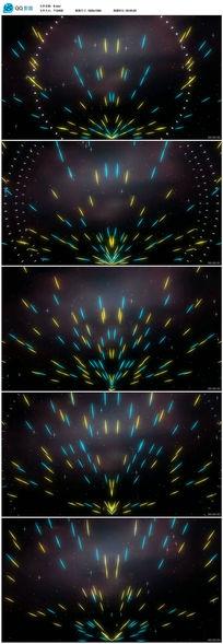酒吧vj粒子变换视频
