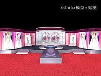 走秀舞台舞美3d模型设计