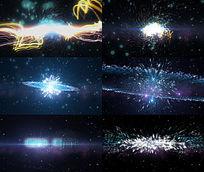 震撼宇宙爆炸logo片头AE模板