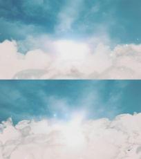 厚厚的云端梦境视频素材