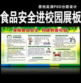 食品安全宣传栏