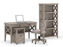 美式风格办公桌3d模型(2011版max)