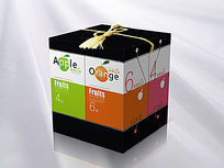 创意精装水果礼箱设计