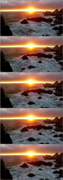 大海海边海岸视频素材