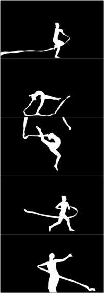 人物舞蹈led视频