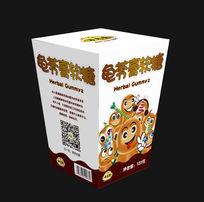 可爱龟苓膏软糖包装设计