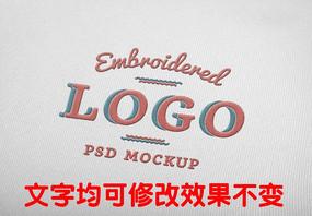 刺绣logo