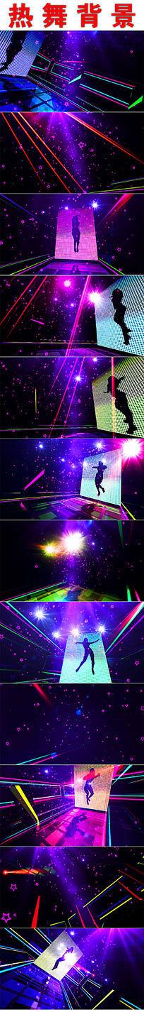 超动感炫丽舞台背景视频