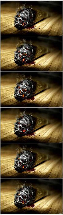吸烟有害健康LED