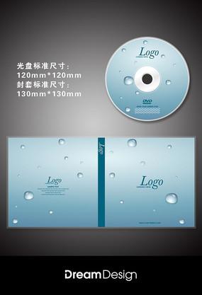 生态环保水滴光盘CD封套设计