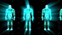 人体构架视频素材