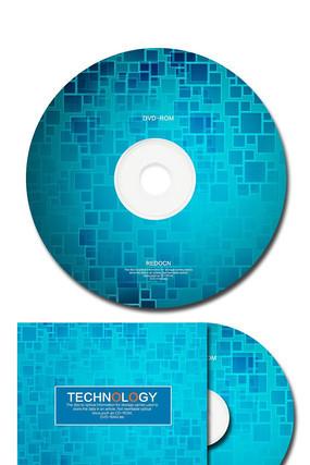 时尚科技公司光盘封套设计