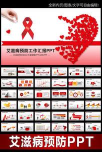 艾滋病预防与知识讲座动态PPT