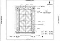 电视机背景墙CAD设计图