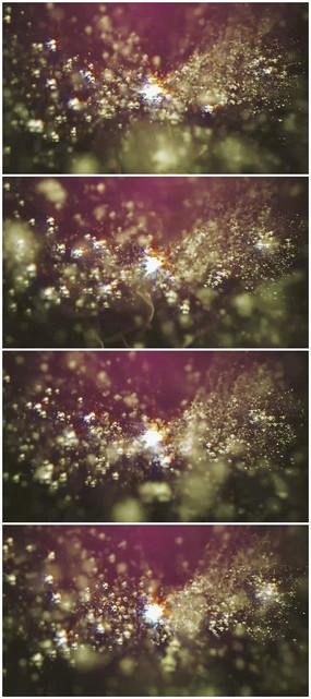 粒子运动背景视频素材