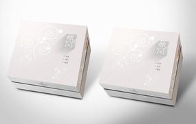 高端银色燕窝包装盒设计