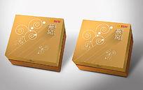 金色高端燕窝礼盒设计