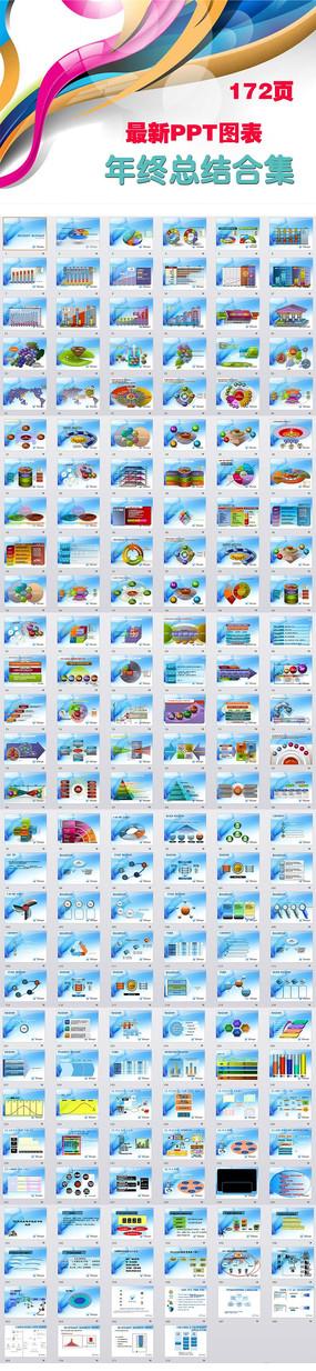 动态新年计划PPT图表图片打包下载 ppt