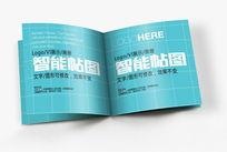 方形画册内页场景智能贴图模板
