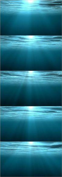 极品海洋LED舞台背景视频素材