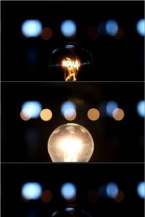 唯美创意灯光闪烁舞台led视频视频素材