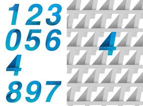 阿拉伯數字設計