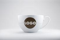 vi大杯子logo展示效果图