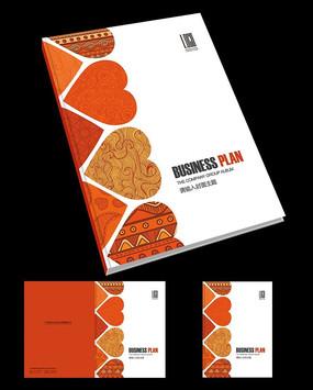 国外至简婚礼画册封面设计