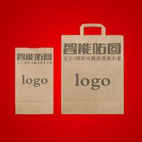 牛皮纸食品包装袋vi效果展示