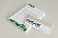 企业信封书本VI模板效果图