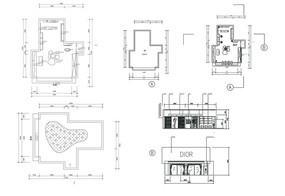 商业空间平面图
