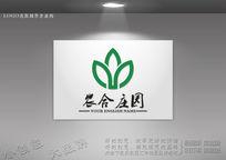 绿色生态标志 绿色生态农业logo