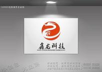天地龙标志 金龙标志 龙logo