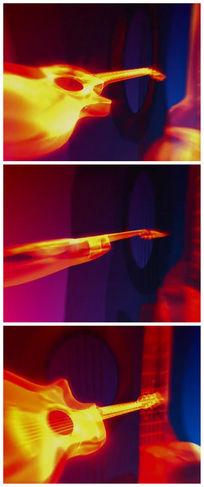 火焰吉他视频素材