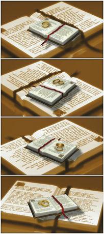 圣经婚庆视频素材