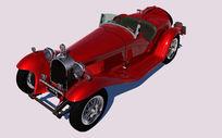 Alfa Romeo 2300汽车模型