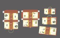 中国风铁棍山药包装设计